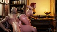 Triss fucks with Geralt, 1440x810, 11 s, 2.1MB, webm