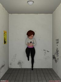 Helen Parr found something solid, WIP., 1024x1366, 23 s, 19.3MB, mp4